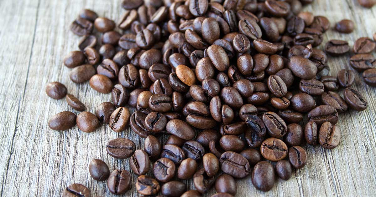 Café en grain torréfié