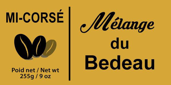 Étiquette Mélange du Bedeau