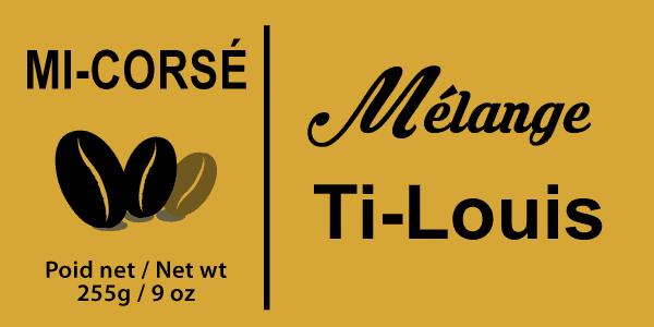 Étiquette Mélange Ti-Louis